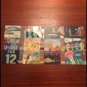 New collectible Starbucks cards!
